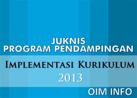 Implementasi Kurikulum 2006 juknis program pendingan implementasi kurikulum 2013 di madrasah oim info