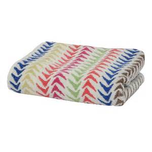 bath towels patterned triangle stripe bath towel from marks spencer bath