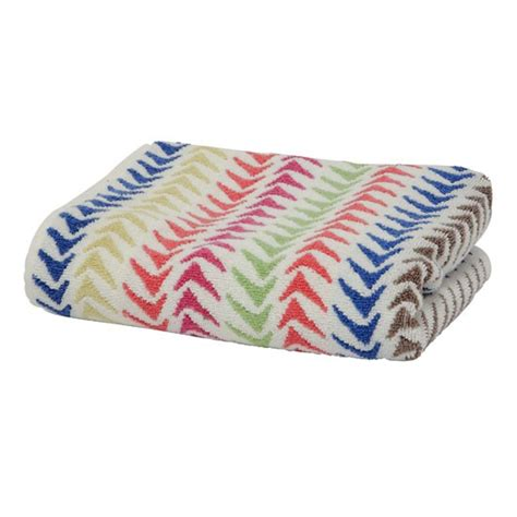 patterned towels for bathroom triangle stripe bath towel from marks spencer bath