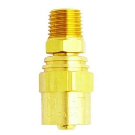 milton air fittings s621 milton industries reusable brass hose fittings