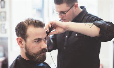 gents haircut edinburgh gents wash cut and eyebrow wax hudson hair groupon