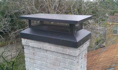 fireplace cap chimney cap installation services in chimney wildlife