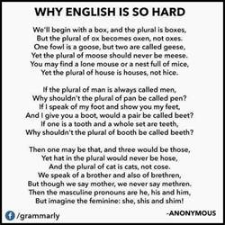 what time is o clock english is a funny language