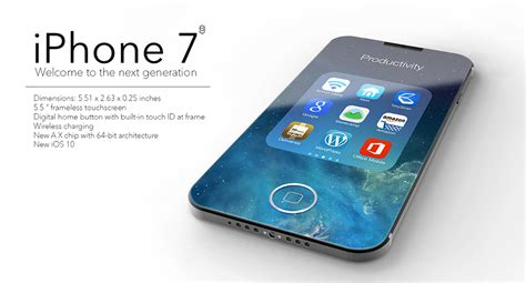 7 iphone size iphone 7 bigger screen same size yanko design