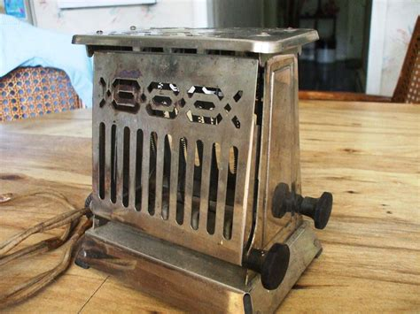 Antique Electric Toaster vintage point edison electric antique toaster 25t22 works toasters