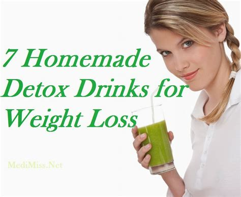 Best Home Detox Diet by 7 Detox Drinks For Weight Loss Medimiss