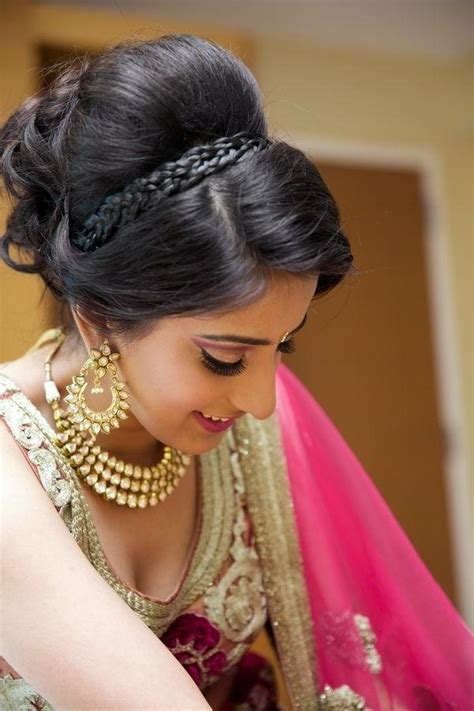 best 25 indian bridal hairstyles ideas on 2018 indian wedding hairstyles