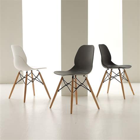 la seggiola sedie sedia laseggiola modello shell wood sedie a prezzi scontati