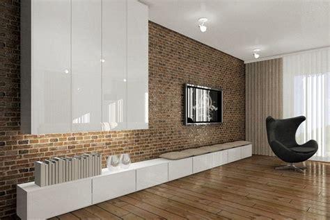 wohnzimmerwände fernseher an wand montieren die eleganteste variante