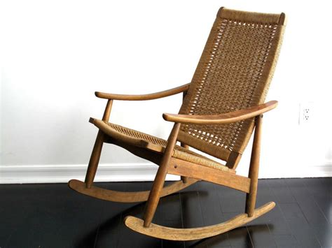 mid century rocking chair mid century modern rocking chair wicker p8tch designs mid century modern rocking chair for