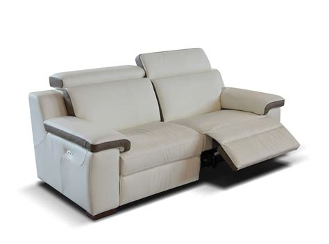 Reclining Modern Sofa Italian Leather Recliner Sofa Recliner Sofa Prado By Seduta D Arte Thesofa