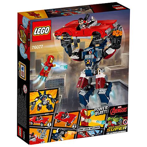 76077 Lego Marvel Heroes Iron Detroit Steel Strikes buy lego marvel heroes 76077 iron detroit steel