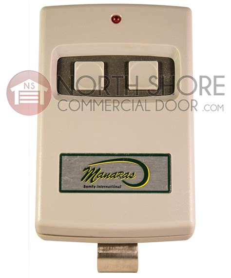 Overhead Door Transmitter Manaras Two Channel Garage Door Opener Transmitter Item Mt2 1000