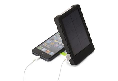 tablet solar charger solar powered phone and tablet charger sharper image