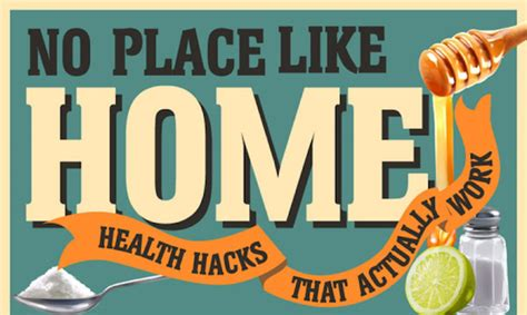 no place like home these health hacks actually work