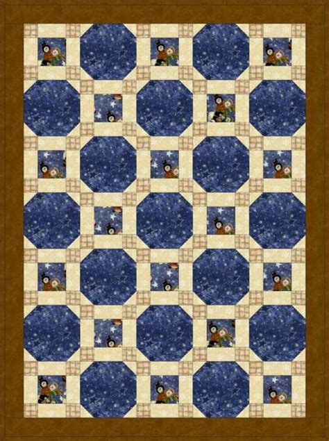 Free Snowball Quilt Pattern by Make A Through The Windows Baby Quilt With This Free