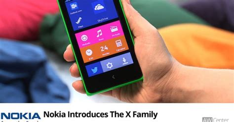 Hp Nokia X Family nokia announces its android powered smartphones the x family aw c