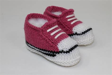 knitted sneakers pattern 40 knit baby booties with pattern page 5 of 5