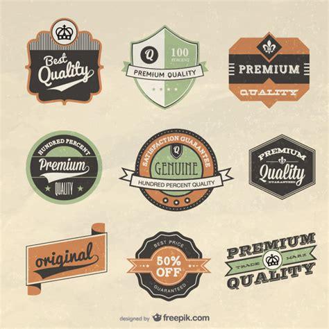 design vintage label retro label design vector vector free download