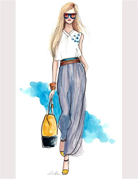 design fashion girl 50 best fashion design sketches for your inspiration