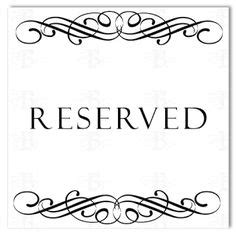 This Room Is Reserved Sign by Use This Small Printable Sign To Show That A Room Office