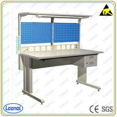 anti static work bench industrial workbench manufacturer esd workstation buy