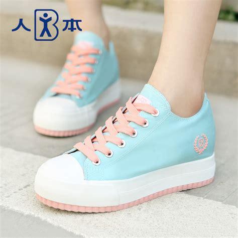 Sepatu Fashion Sneakers Wedges Flowers Shoes shoes kawaii pastel plateau shoes sneakers pink