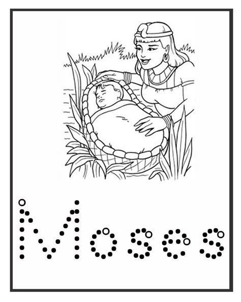 coloring pages for baby moses in the river coloring pages for baby moses in the river hd image