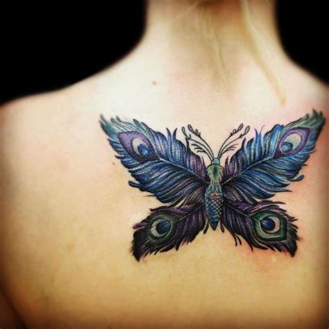 tattoo butterfly wings peacock feather butterfly butterfly with peacock wings