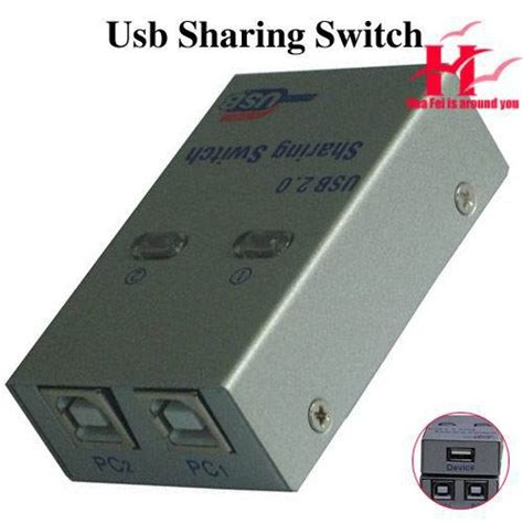 Autoswitch 1 2 Printer Usb wholesale switch usb 2 0 2 port auto switch printer scanner splitter free