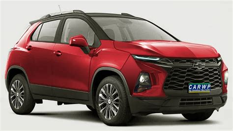 Chevrolet Tracker 2020 by Render Novo Chevrolet Tracker 2020 New Trax Facelift Onix