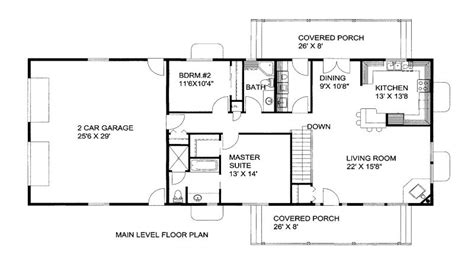 1500 Square Foot House Plans 2 Bedroom 1300 Square Foot House Plans 1300 Square