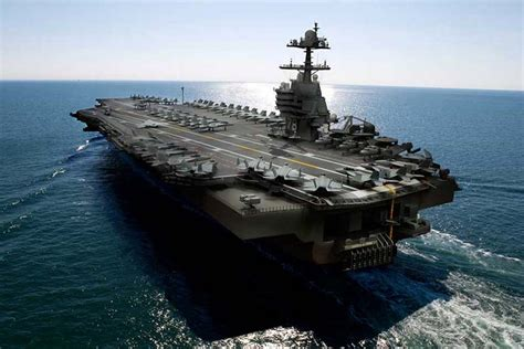 airplane carrier uss gerald r ford cvn 78 aircraft carrier strange vehicles diseno