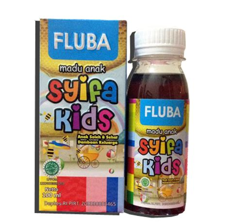 Madu Gurah Batuk Flu madu anak syifa fluba flu dan batuk alzafa store alzafa store