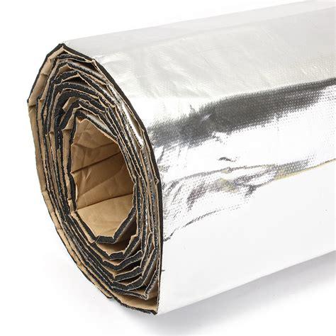 Car Heat Shield Sound Deadener Insulation Deadening Material Mat Alumi 32sqft firewall sound deadener car heat shield insulation
