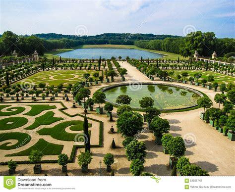giardino di versailles giardino di l orangerie a versailles parigi immagine stock