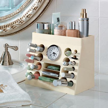 bathroom counter makeup organizer cosmetic storage solutions you need to save time and space