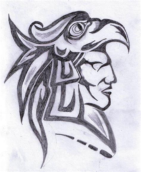 Aztec Drawings New Calendar Template Site Aztec Warrior Tattoos Drawings