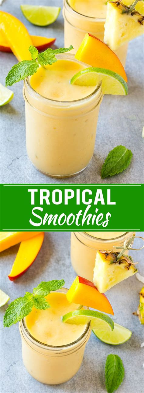 4 fruit blend smoothie best 25 tropical smoothie recipes ideas on
