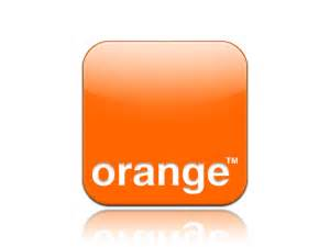 logo orange iphone