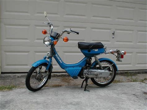 1983 Suzuki Fa50 1983 Suzuki Fa50 Shuttle Blue Moped Photos Moped Army