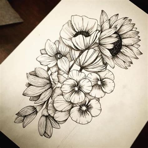 flower hip tattoo best 25 flower hip tattoos ideas on