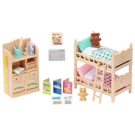 sylvanian families childrens bedroom furniture set  dolls house boutique