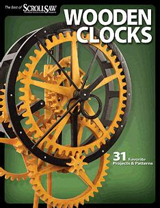 wooden clocks    scroll  magazine