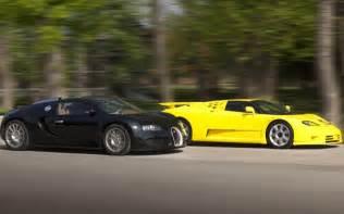 Bugatti Veyron Ss Engine 2010 Bugatti Veyron Vs 1992 Bugatti Eb 110 Ss Comparison
