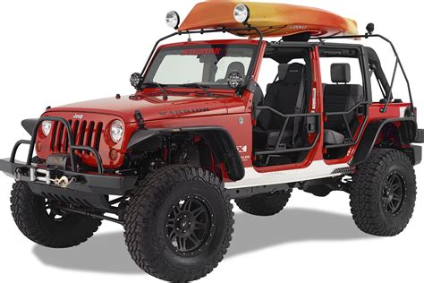 safari jeep craft warrior products 878 safari water craft rack for 07 18