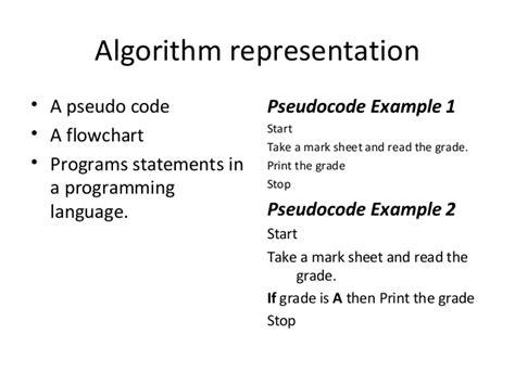 algorithm pseudocode and flowchart exles cmp104 lec 7 algorithm and flowcharts