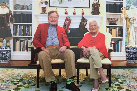 barbara  george hw bush share  family christmas cards