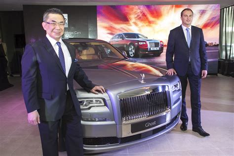 roll royce malaysia rolls royce ghost series ii gets unveiled in malaysia