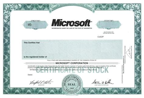 corporate stock certificate template free blank certificate financial accounting manager